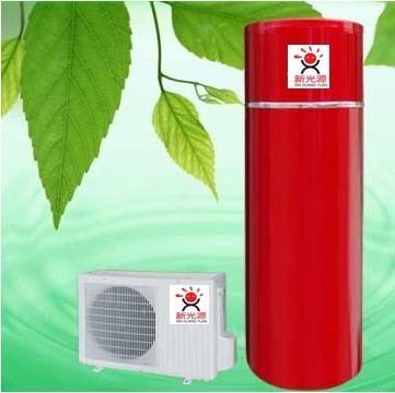 Air water heater(red)