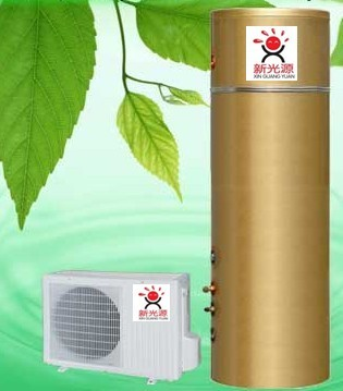 Air water heater(gold)
